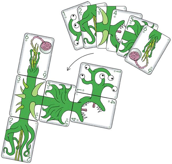 Teratozoic Starting Decks - Green #1