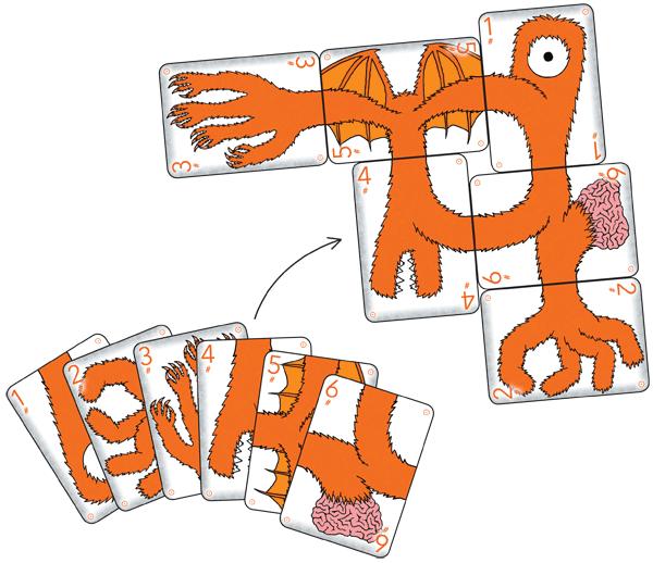 Teratozoic Starting Decks - Orange #1