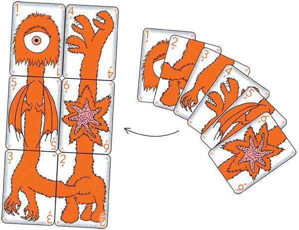 Teratozoic Starting Decks - Orange #2
