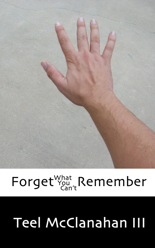Forget What You Can't Remember, an experimental novel by Teel McClanahan III, from Modern Evil Press